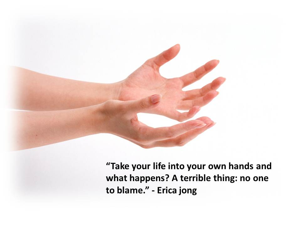 Quote - Take Life in Hands