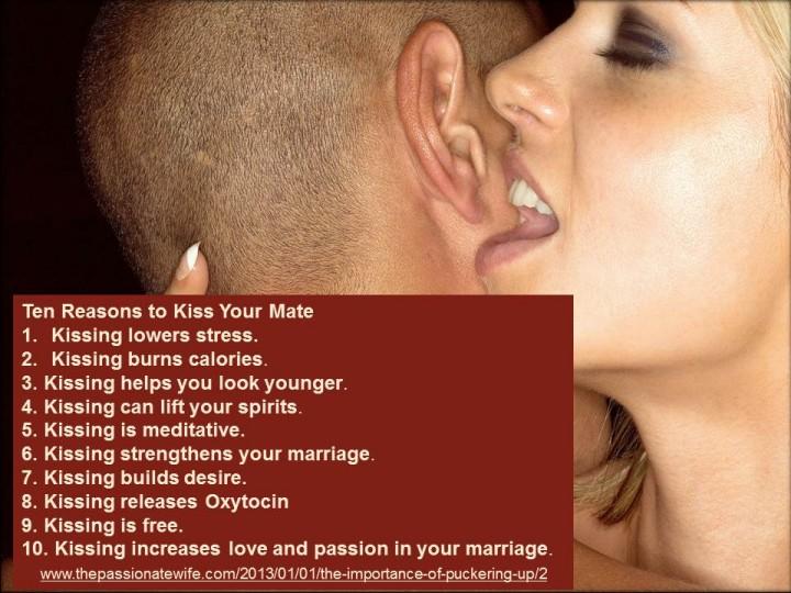 10 Reasons to Kiss Partner