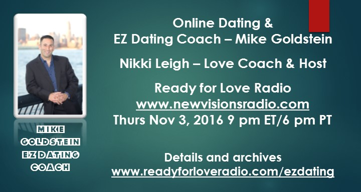 Online Dating Conversation with EZDating Coach Mike Goldstein