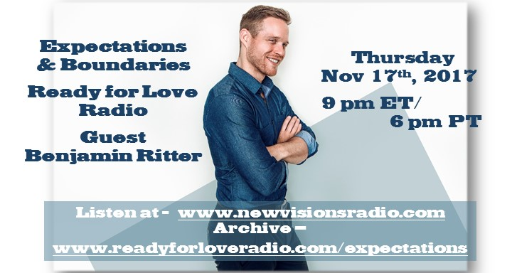 Expectations and Boundaries with Benjamin Ritter on Ready for Love Radio