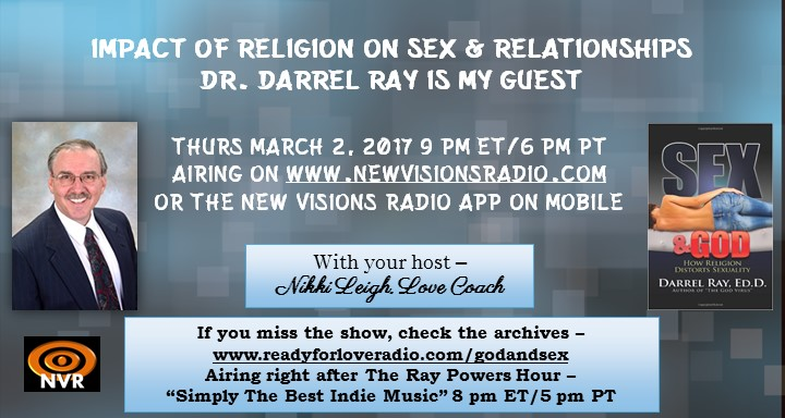 Impact of Religion on Sex and Relationships - God and Sex by Darrel Ray