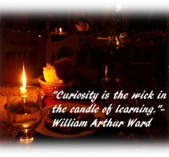 Inspirational Quote – Candle of Learning
