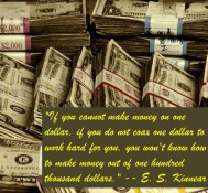 Inspirational Quote – Can You Make Money Work For You