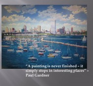 Inspirational Quote – Painting Never Finished